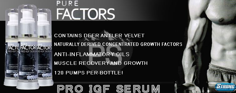 IGF Serum at strongsupplementshop.com