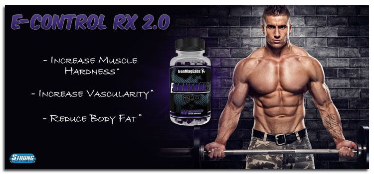 E-Control Rx 2.0 by IronMag Labs at Strong Supplement Shop