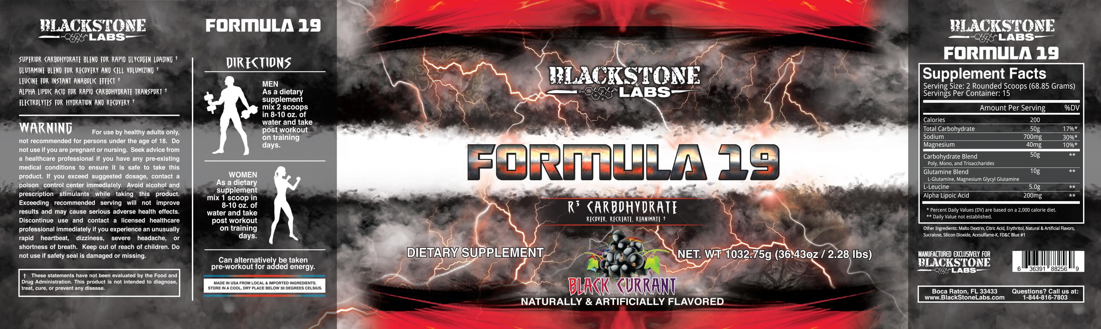 Formula 19 by Blackstone Labs at Strong Supplement Shop!