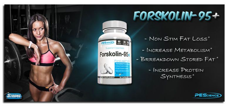 Get Forskolin-95+ by PES Science at Strong Supplement Shop now!