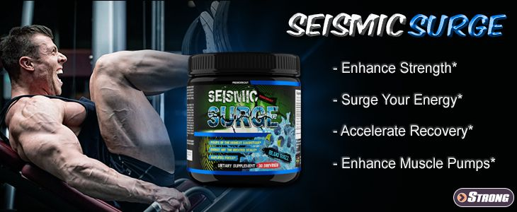 Seismic Surge by Hard Rock Supplements