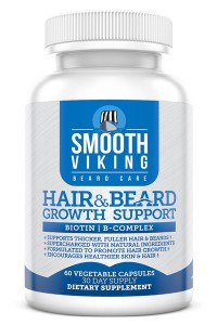 Hair & Beard Growth Support by Smooth Viking
