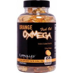 Orange OxiMega by Controlled Labs Fish Oil