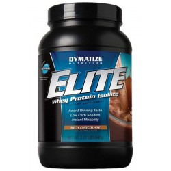 Elite Whey Protein Isolate - Vanilla 2 lbs