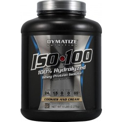 Iso 100 by Dymatize Nutrition - Vanilla 5 lbs