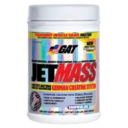 JetMass Creatine TROPICAL ICE