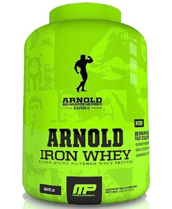 Arnold Iron Whey by MusclePharm