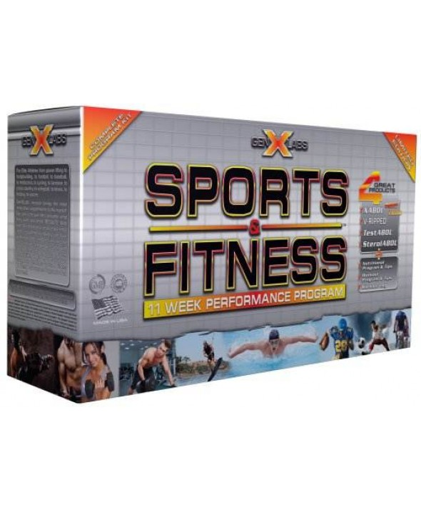 Sports & Fitness Kit by Gen X labs