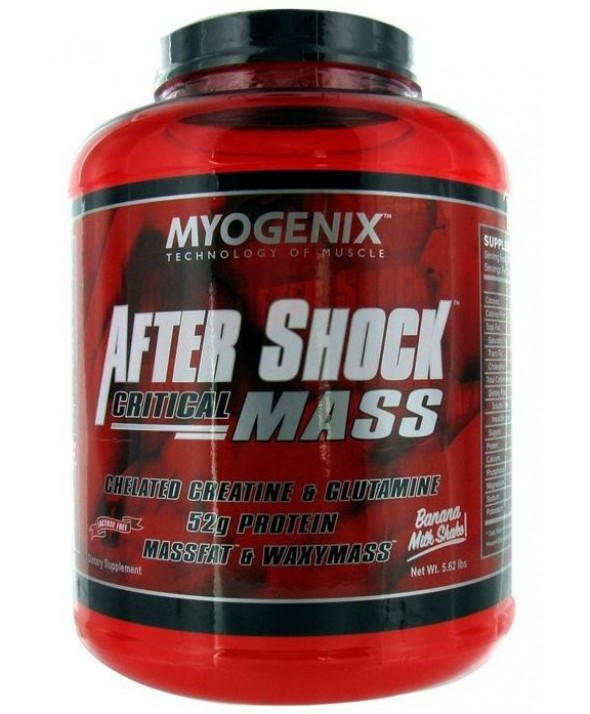 After Shock Critical Mass by Myogenix