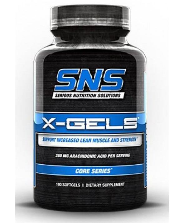 X Gels by Serious Nutrition Solutions