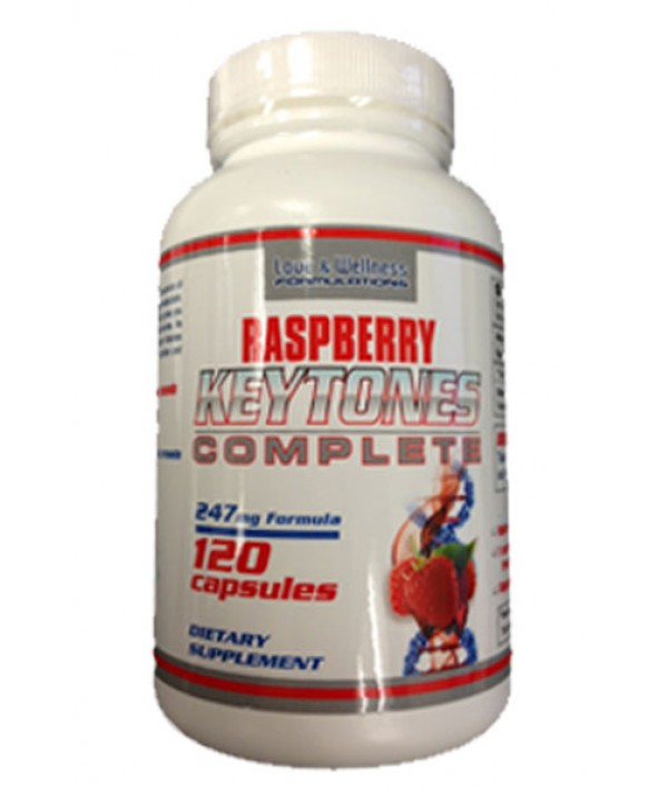 Raspberry Keytones Complete by Love & Wellness Formulations