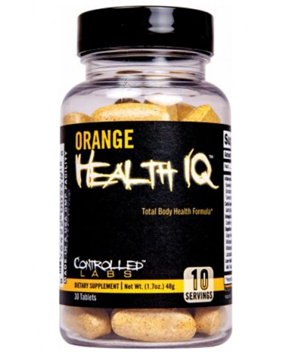 Orange Health IQ by Controlled Labs