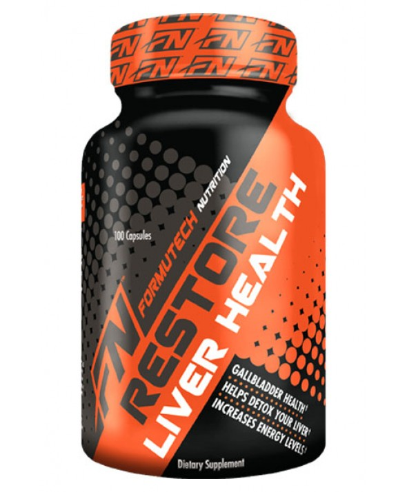 Restore Liver Health by Formutech Nutrition