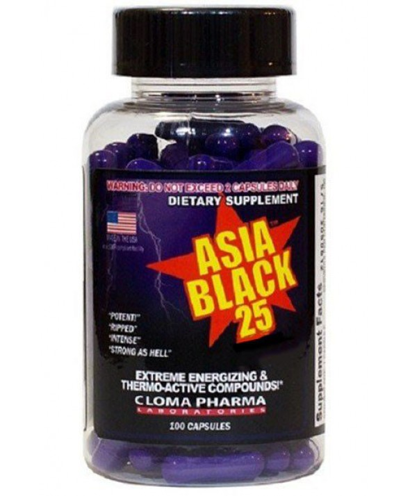 Asia Black 25 by Cloma Pharma