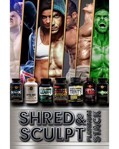 Shred And Sculpt Platinum Stack