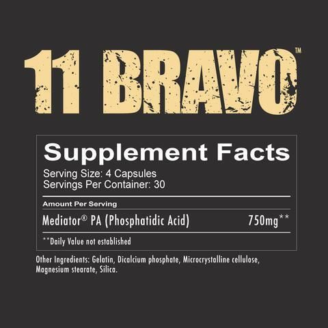 11 Bravo by Redcon1 Supplement Facts