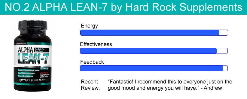 #2 Energy Boosting Supplement- Alpha Lean-7